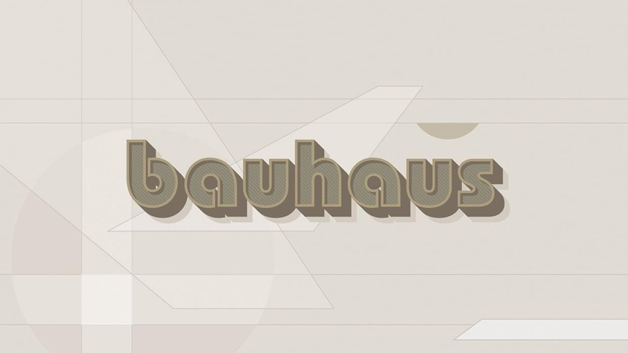 Bauhaus - student project