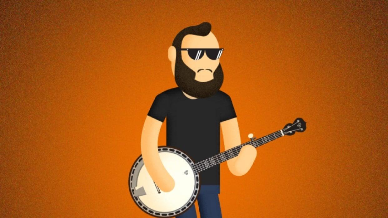 Shreddin' the Banjo - student project