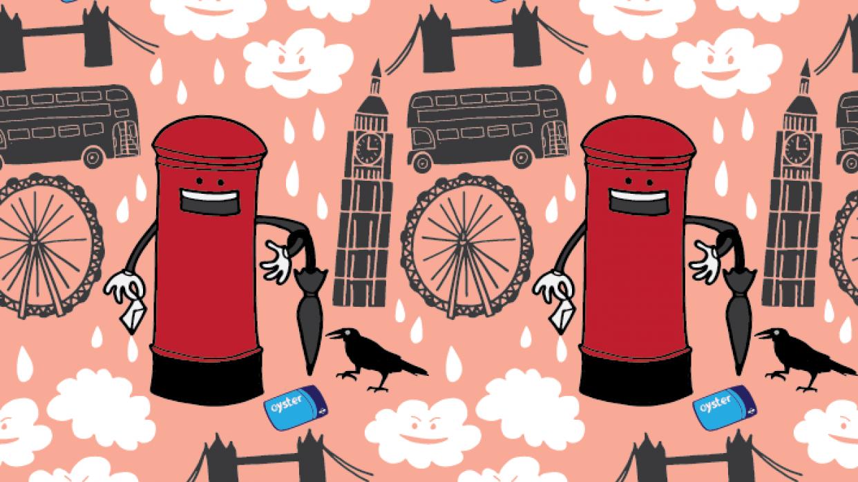 London souvenir - student project