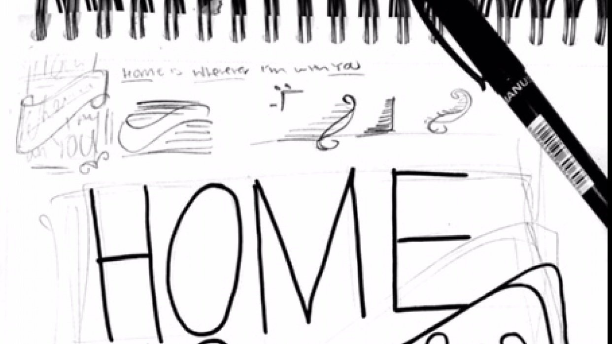 """""""Home""""  - student project"""