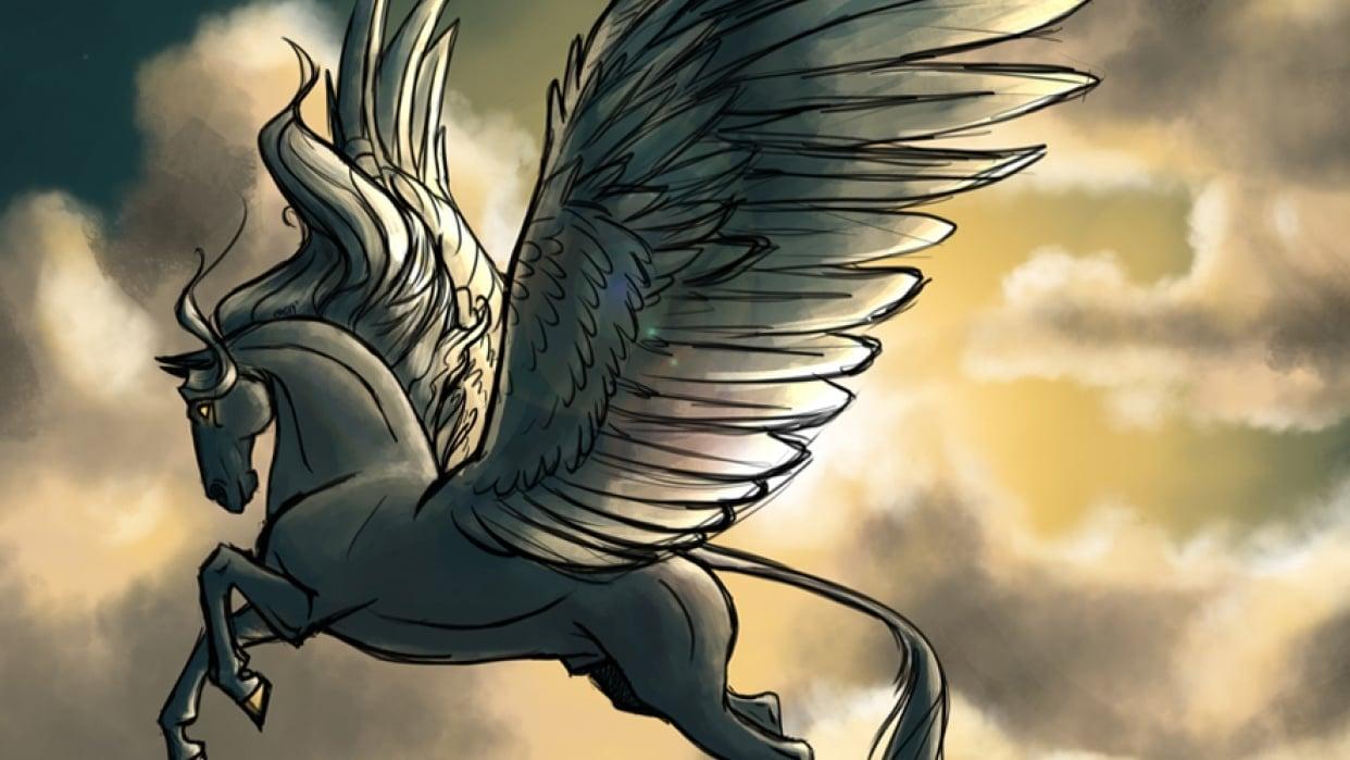Palette Practice: Pegasus  - student project