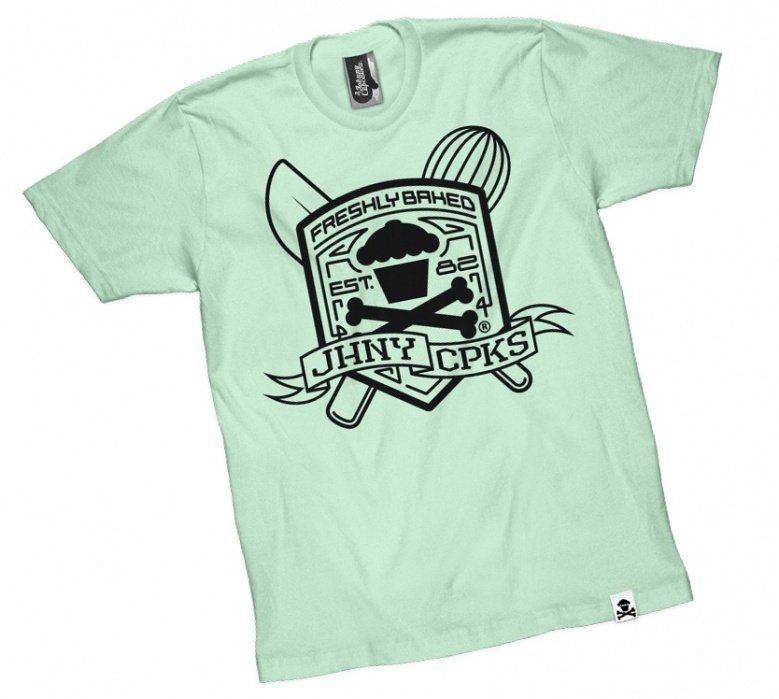 Johnny Cupcakes Basics Tee - student project