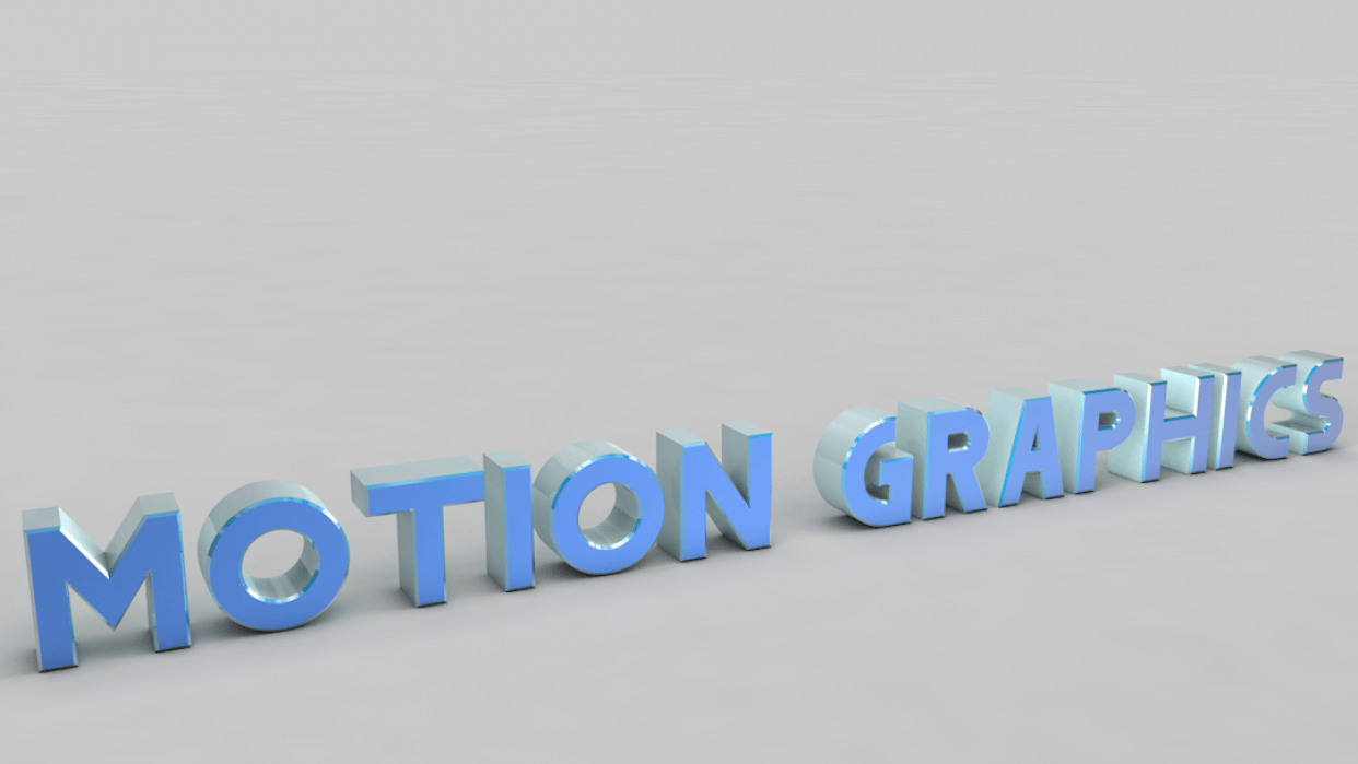 motion graphics - student project