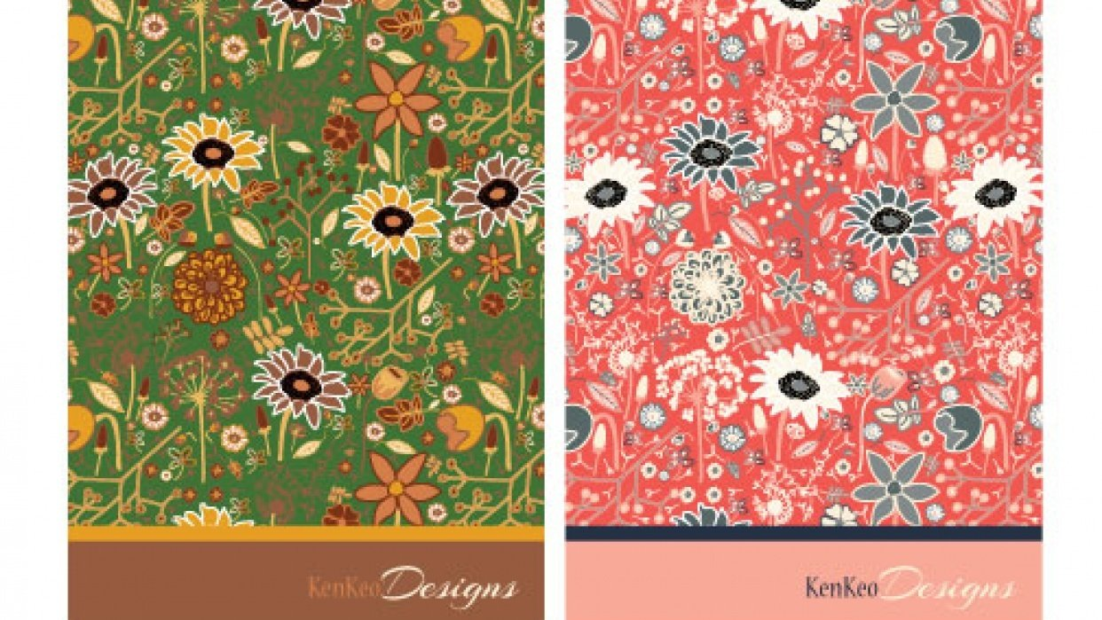 KenKeo Designs Notecards - student project