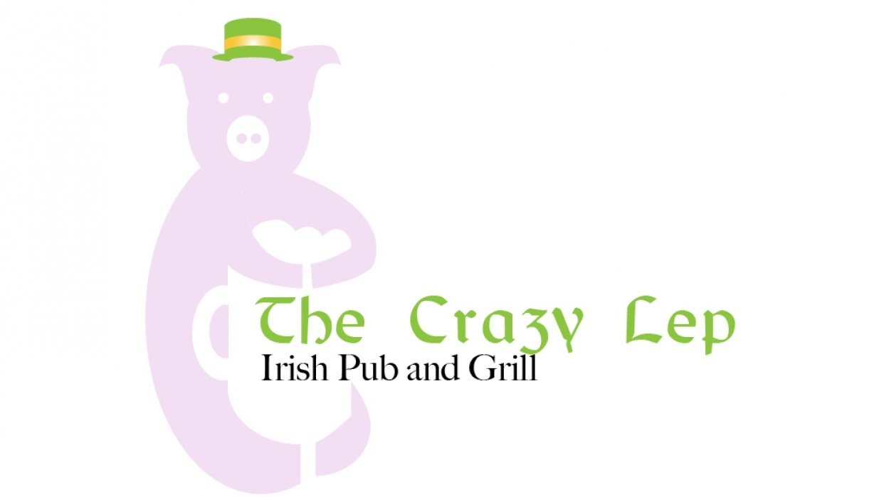 Pig Logo for Irish Cuisine - student project