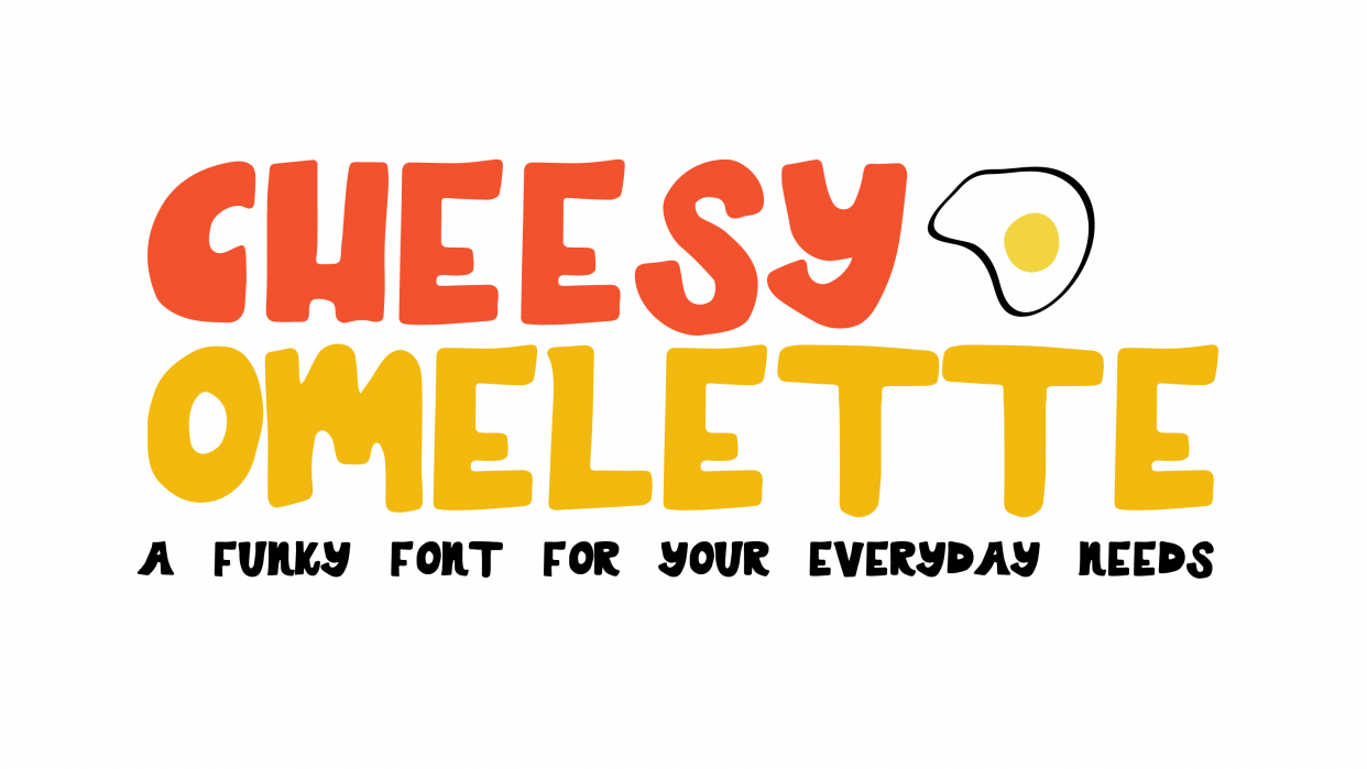 Cheesy Omelette  - student project