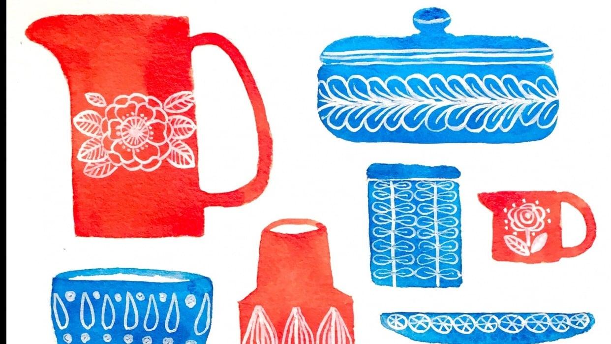 Scandinavian Kitchenware - student project
