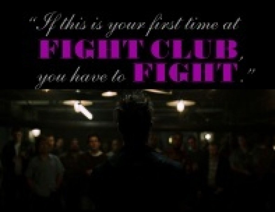 Fight Club - student project