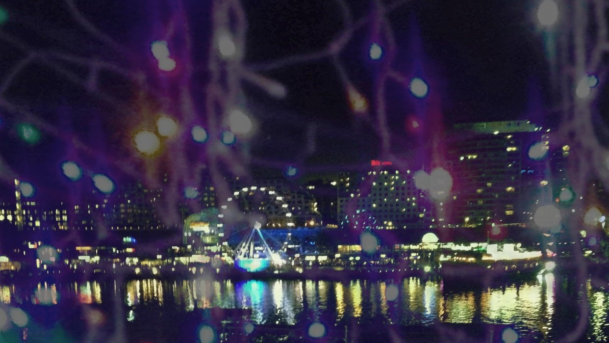 Darling Harbour Lights - student project