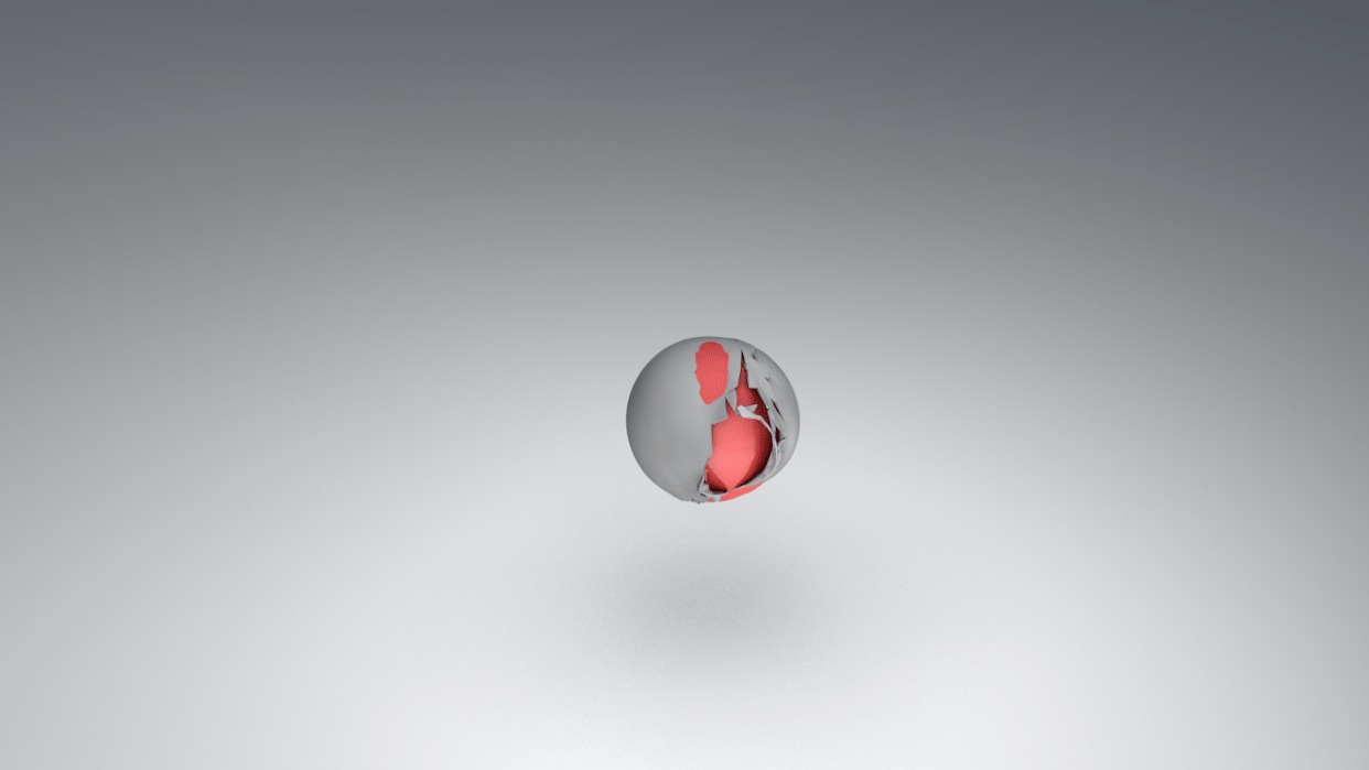 Cloth Sphere - student project