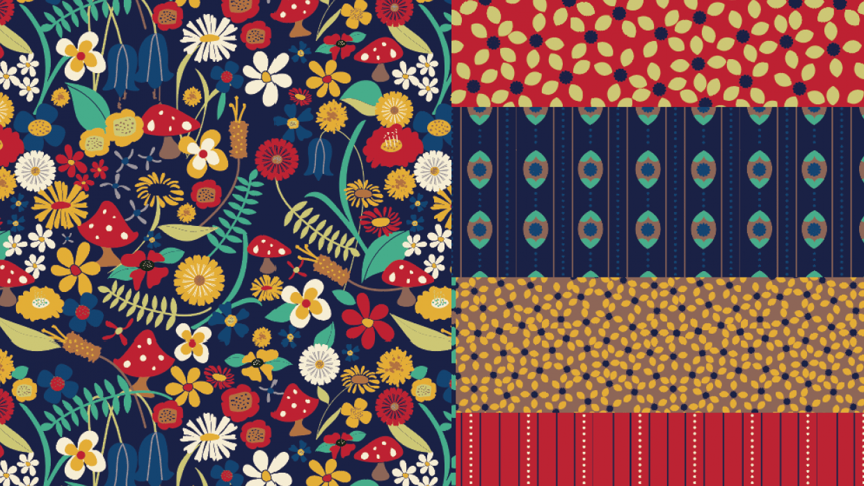 My first pattern story <3 - student project