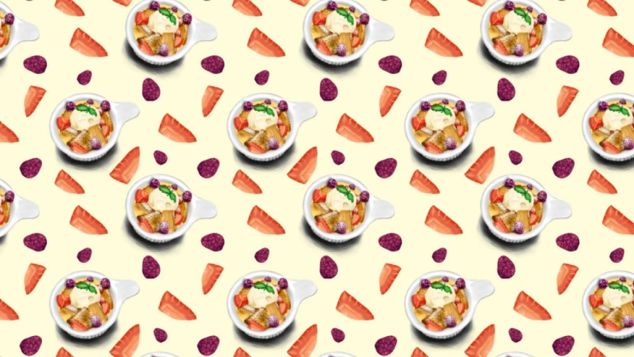 Desserts Pattern - student project
