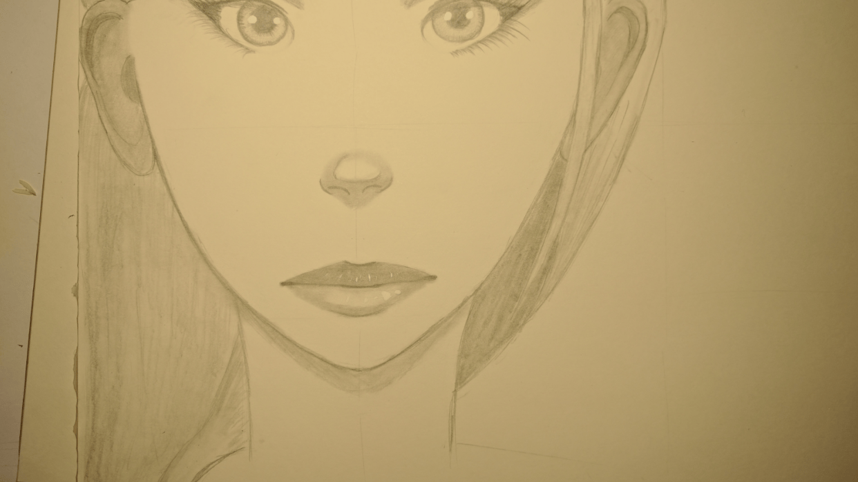 Improve my portrait skills - student project