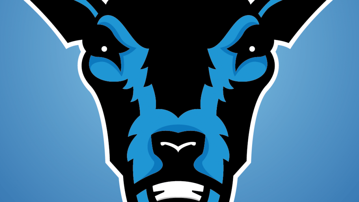 Stag's Head Logo - student project