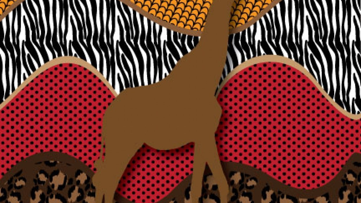 Safari repeating patterns - student project