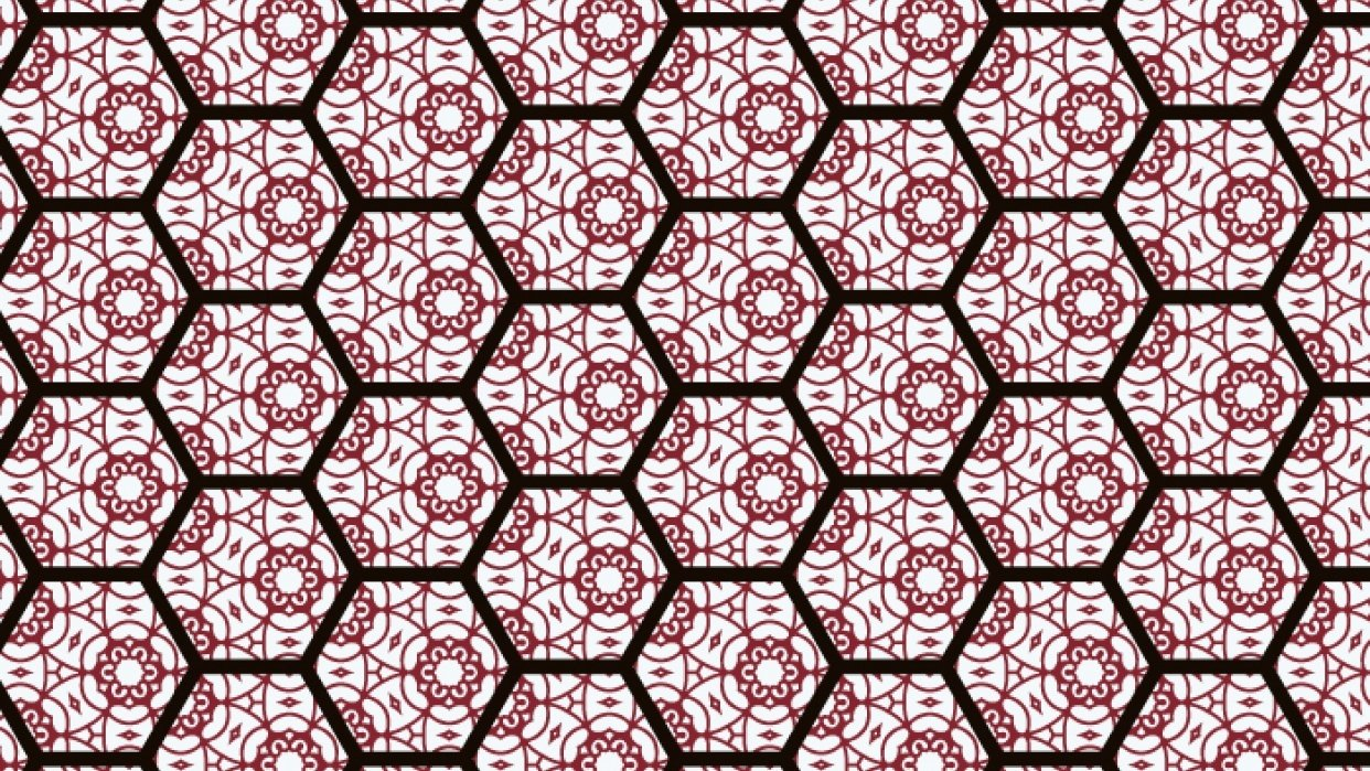 Hexagon Pattern - student project