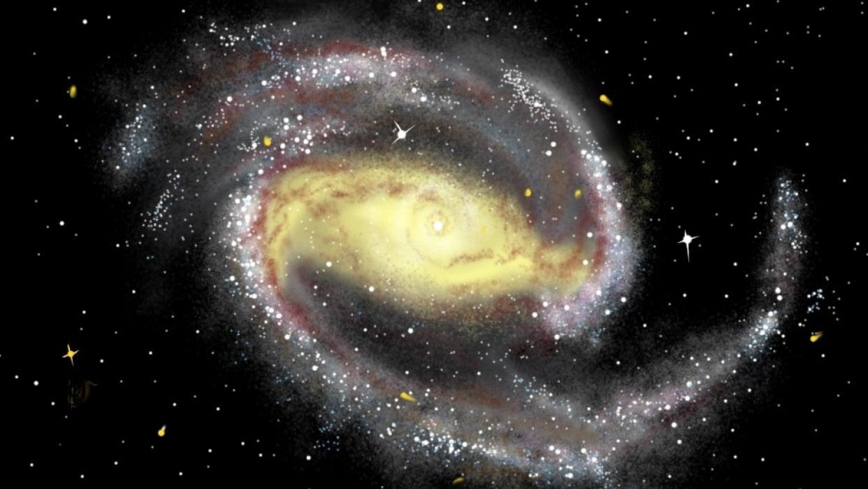 My Pinwheel Galaxy - student project