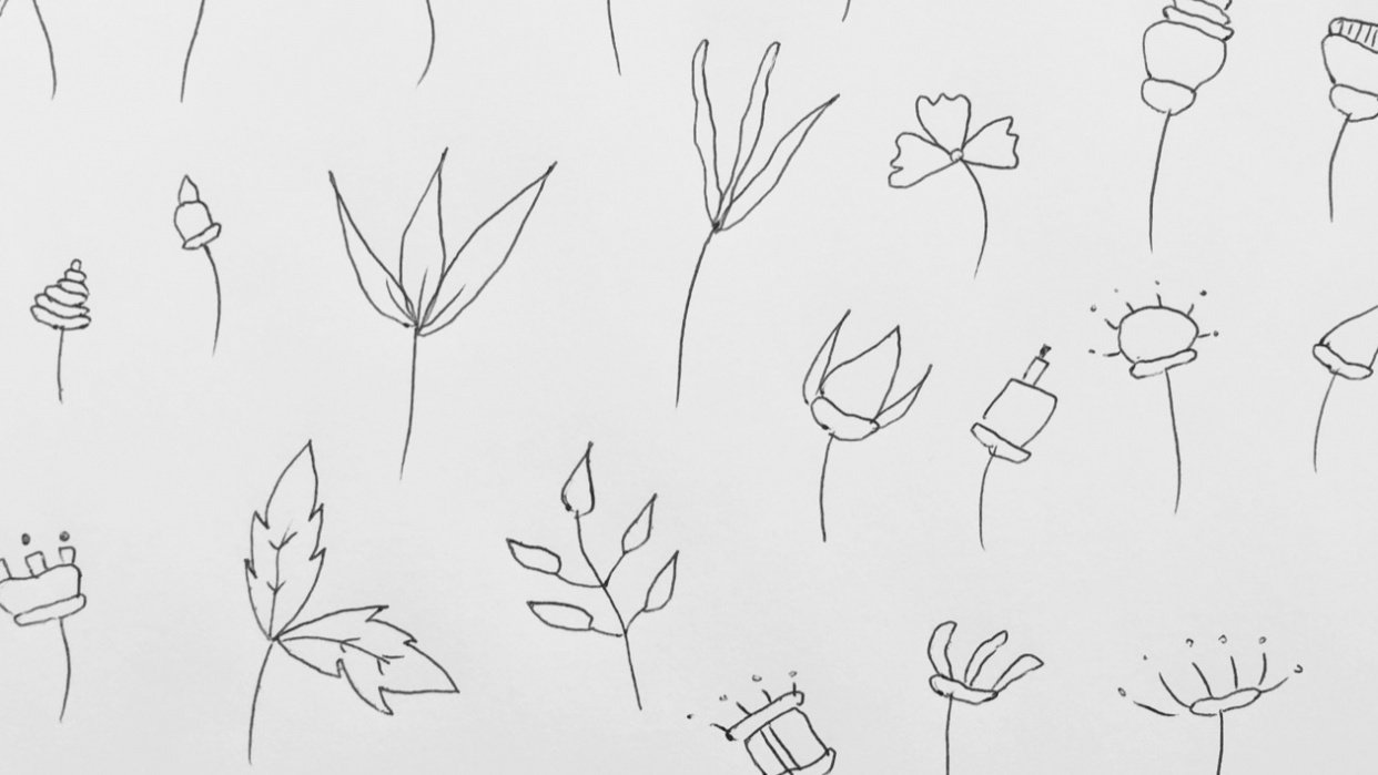 32 flowers practice - student project