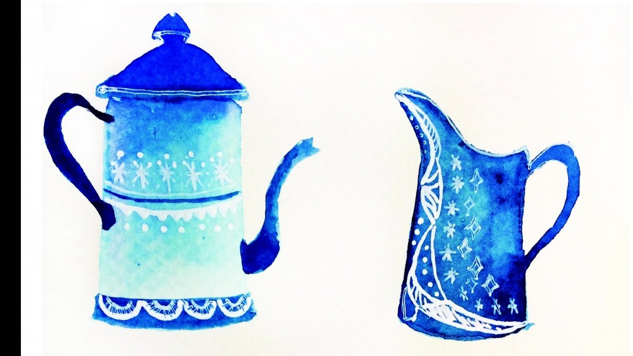 coffee pot try - student project