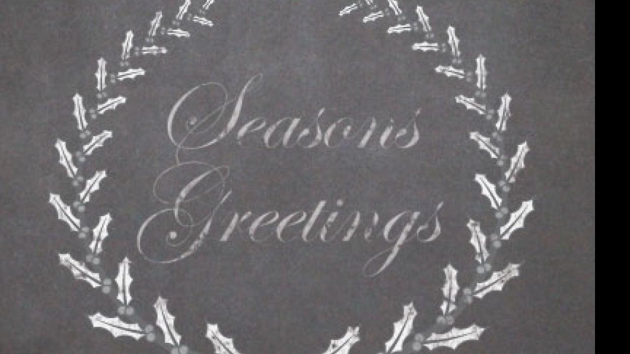 Seasons Greetings - student project