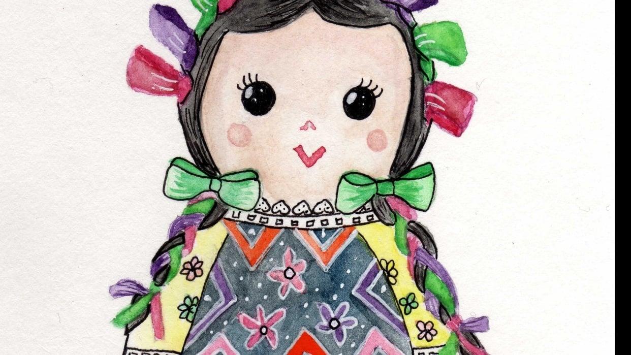 Mazahua doll - student project