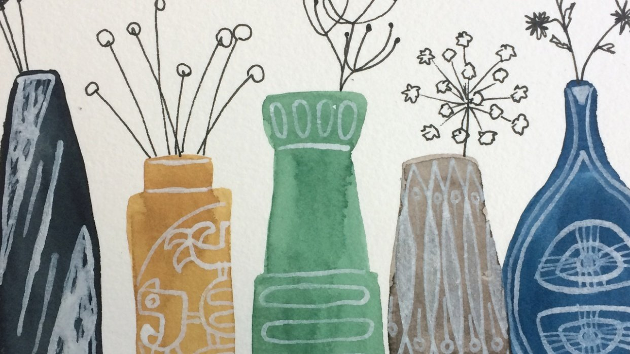 so many nice vases on pinterest... - student project