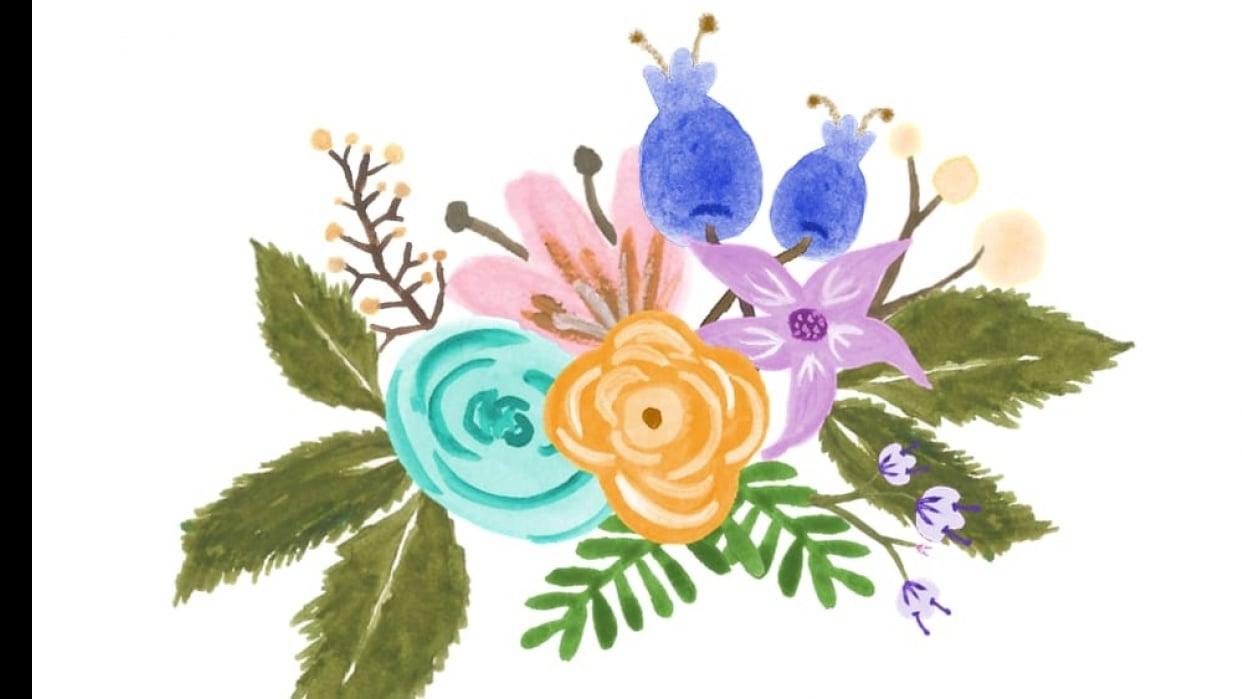 Florals Practice - student project