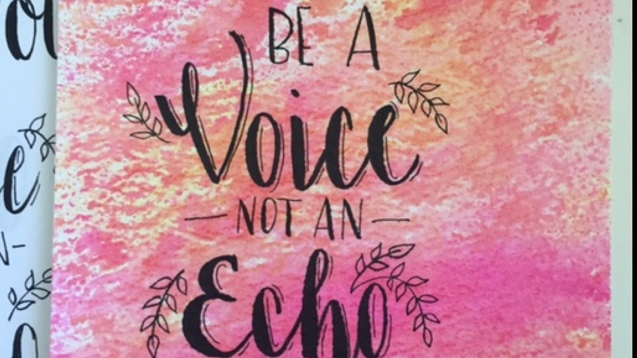 Be a Voice - student project