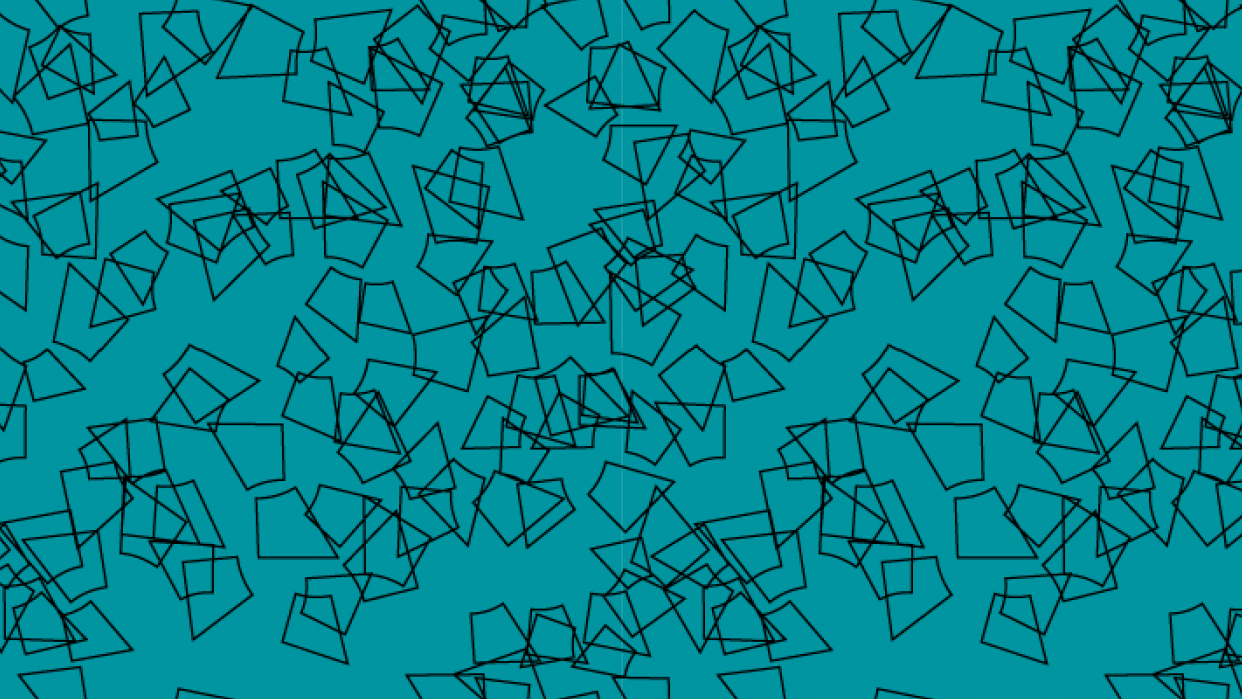 Abstract pattern with my logo - student project
