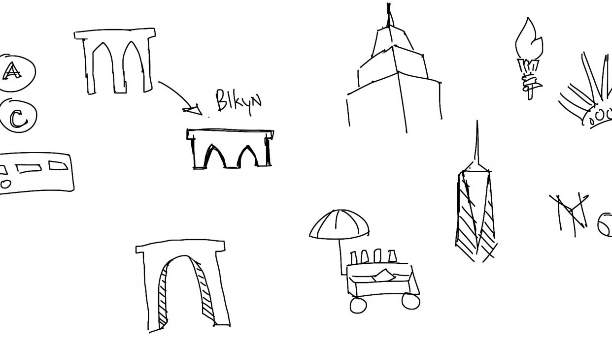 NYC Iconography - student project