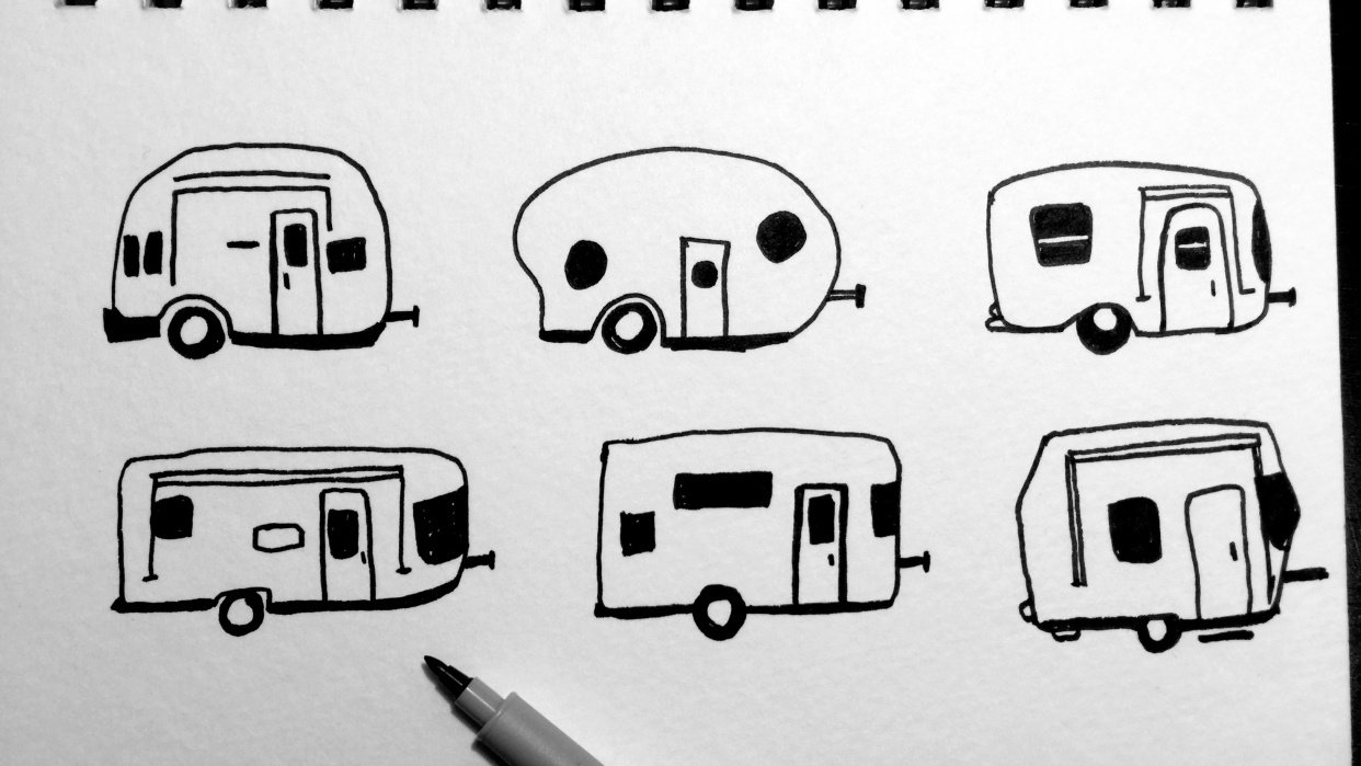 Camper Pattern - student project
