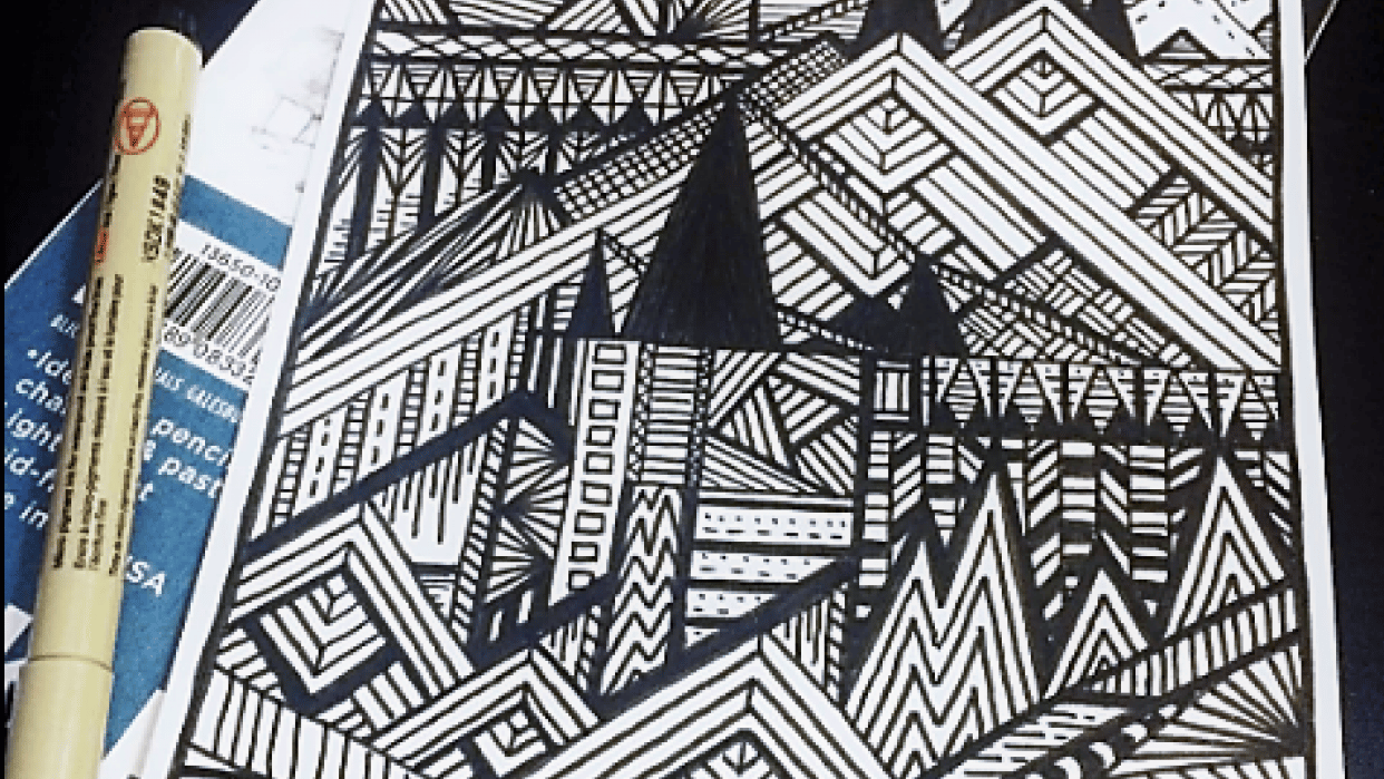 Landscape Doodle - student project