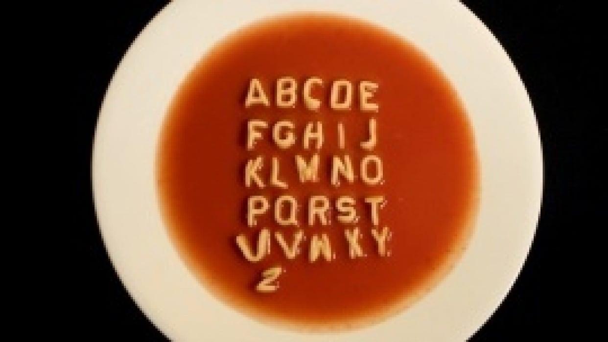 Alphabet Soup - student project