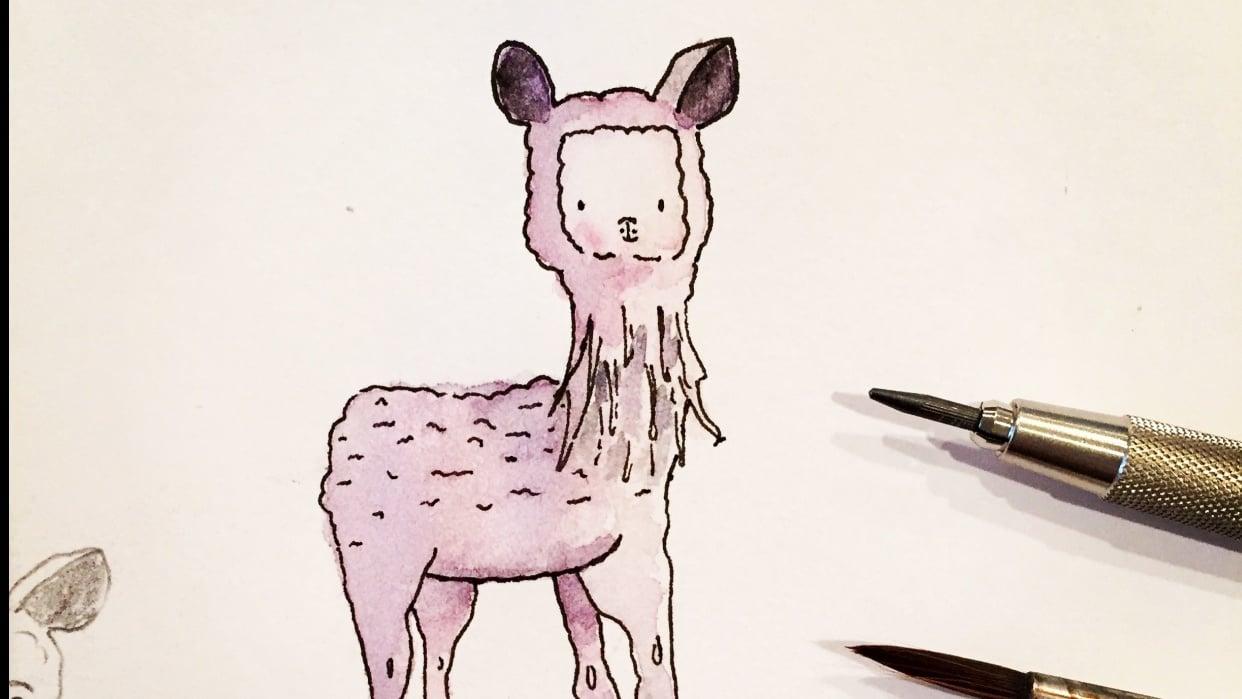 Fav Animal Sketch - student project