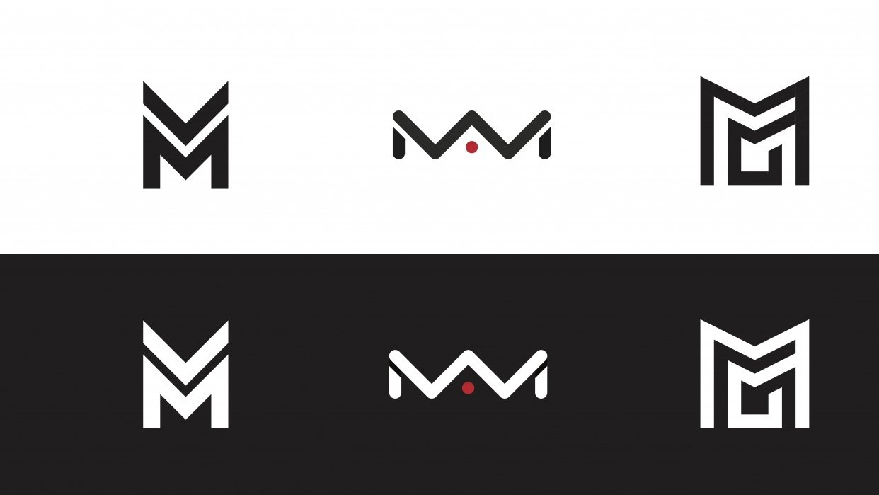 """""""MM"""" Logo - student project"""