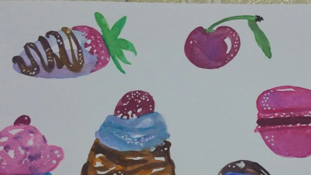 Sweet treats - student project