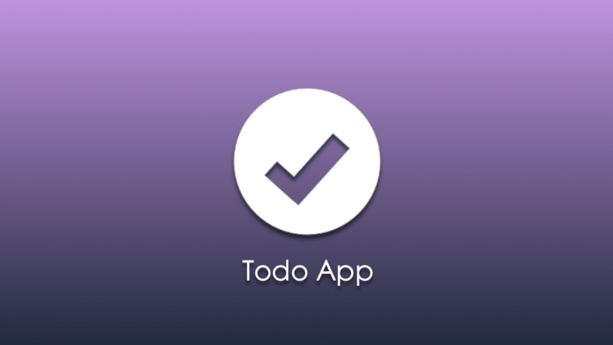 Todo App - student project