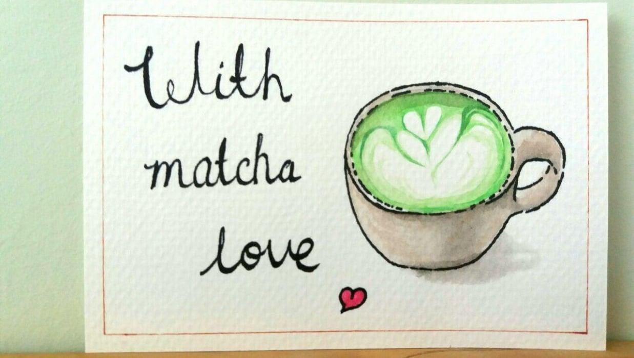 Matcha latte - student project