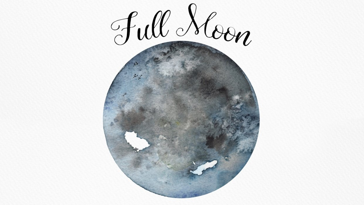Full Moon ❍ - student project
