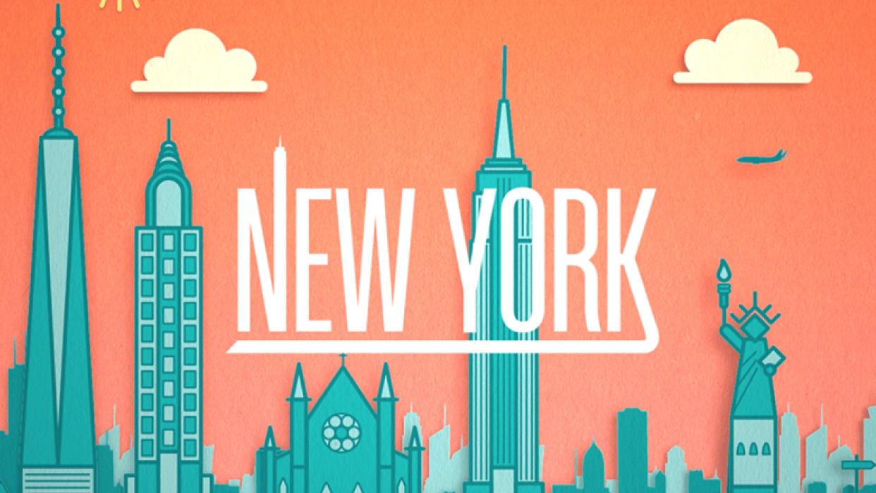 New York Skyline - student project