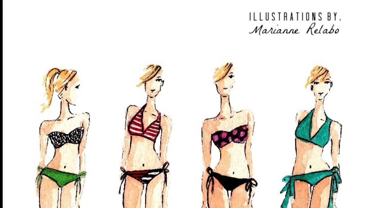 Swimwear Fashion Illustration - student project