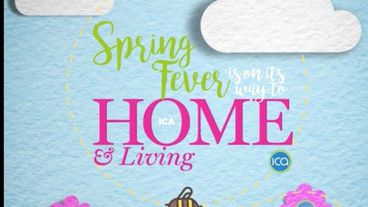ICA Home & Living - Spring Fever - student project