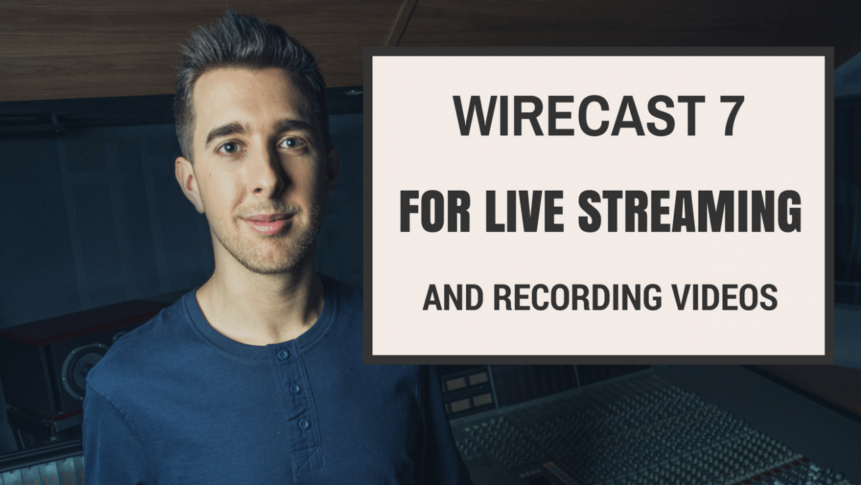Wirecast 7 for Live Streaming and Recording Videos on YouTube, Facebook, and Skillshare! - What I learned - student project