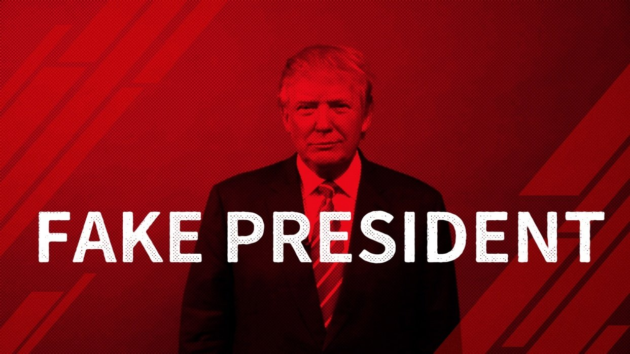 fake president - student project