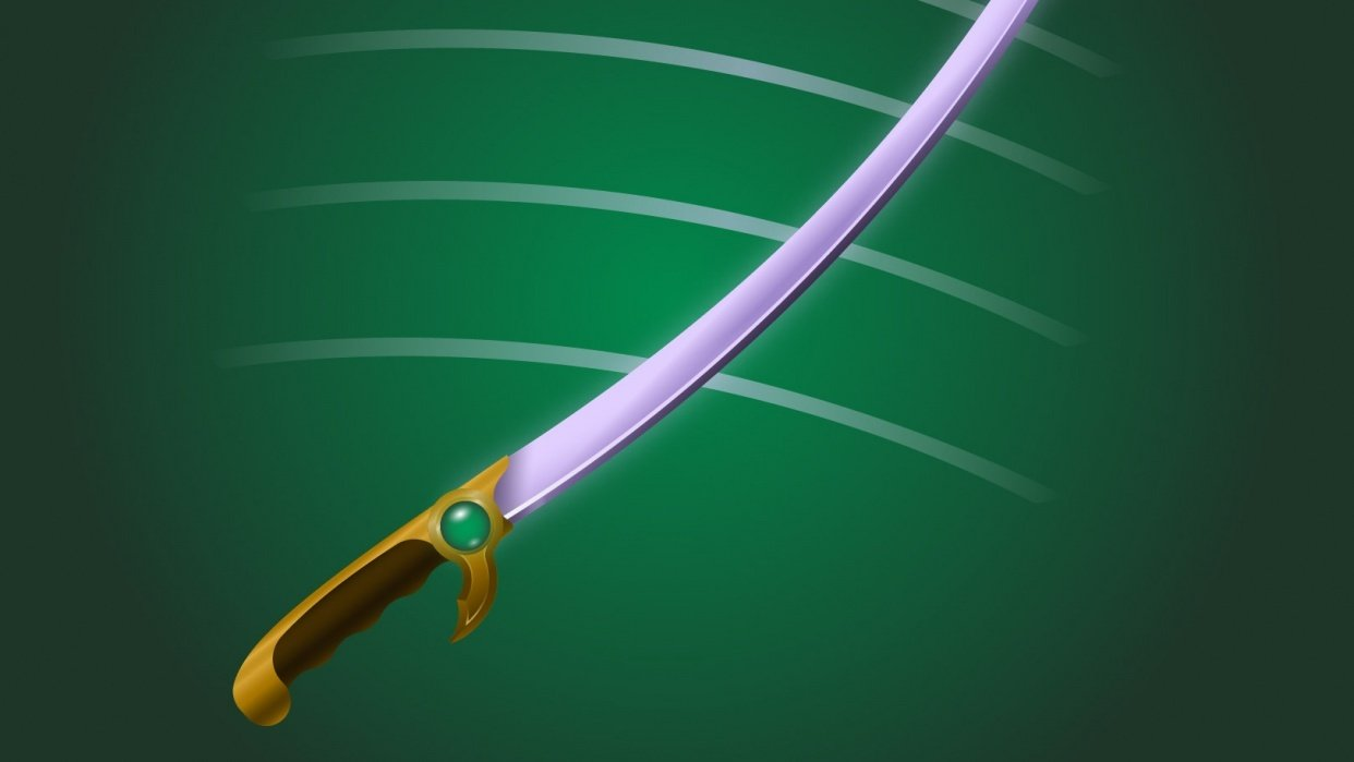 Emerald Saber - student project