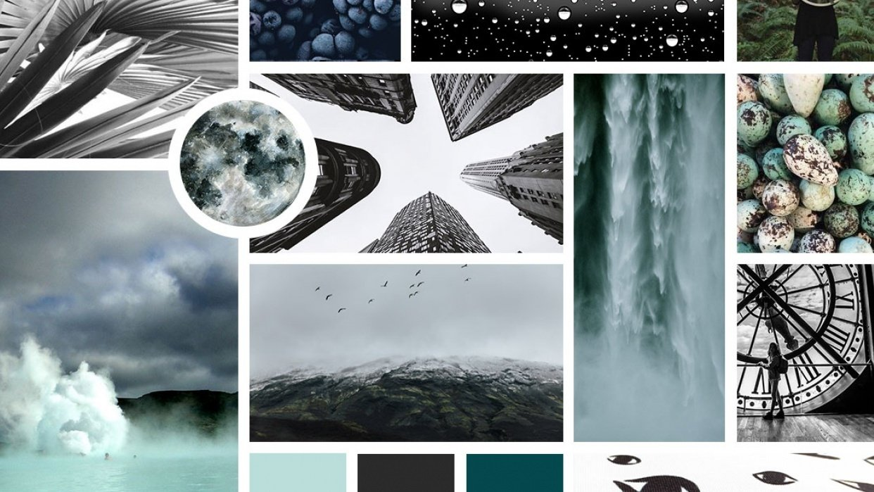 Mood Board - student project