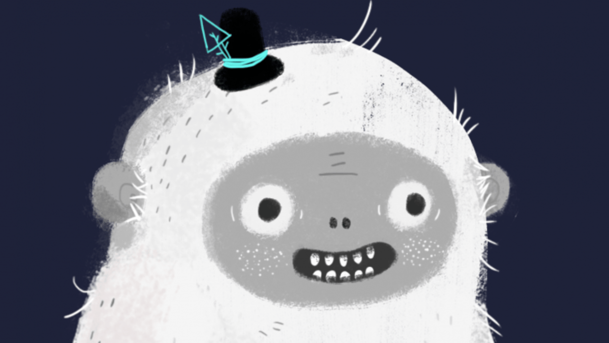 Yeti happy to see you! - student project