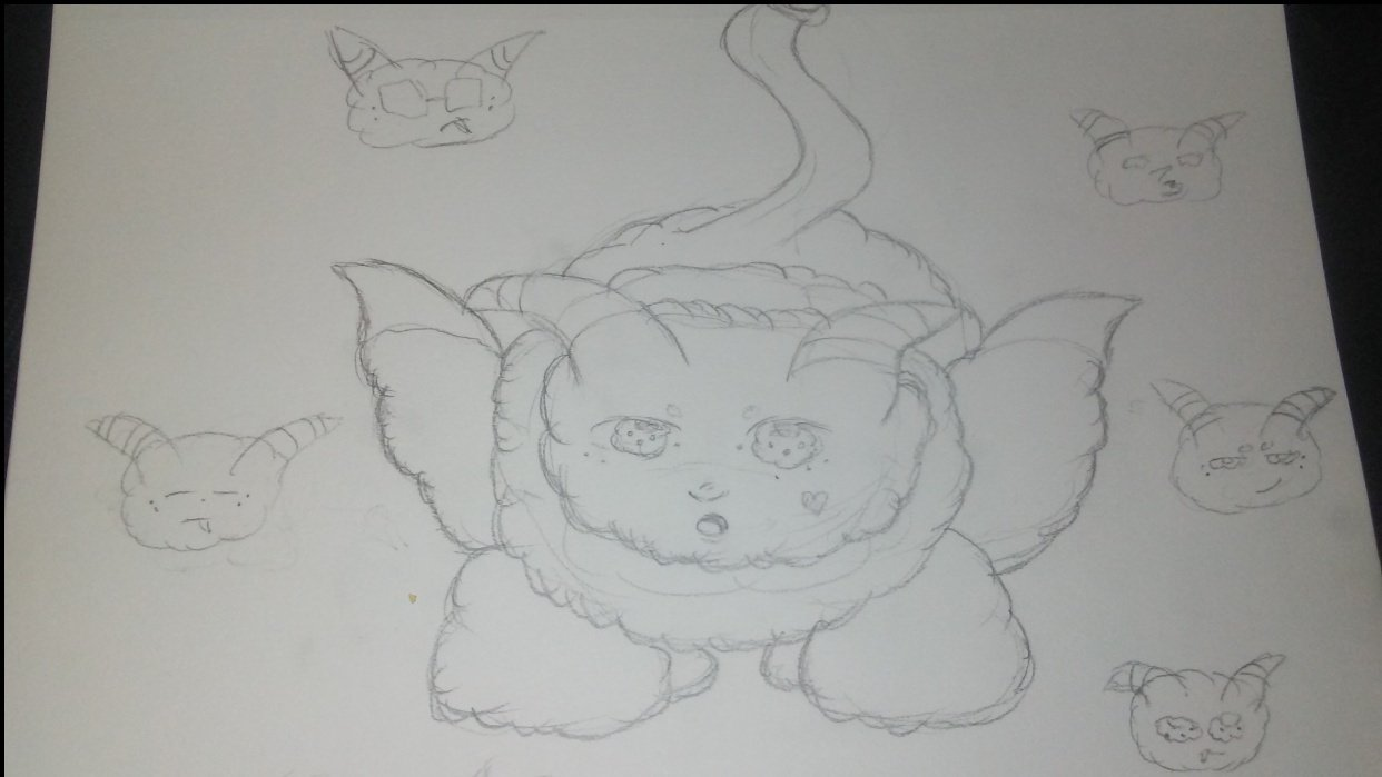 bloopy the  little monster  - student project