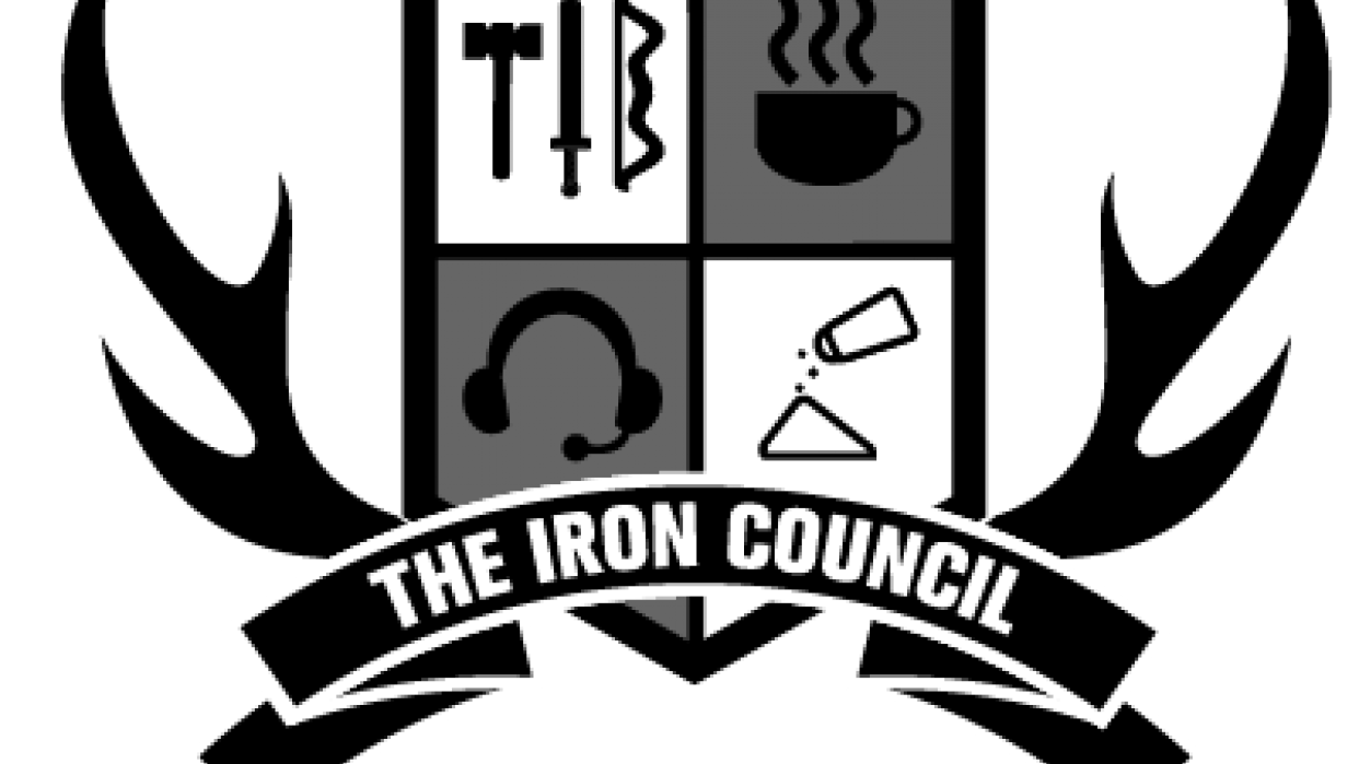 Iron Council crest - student project