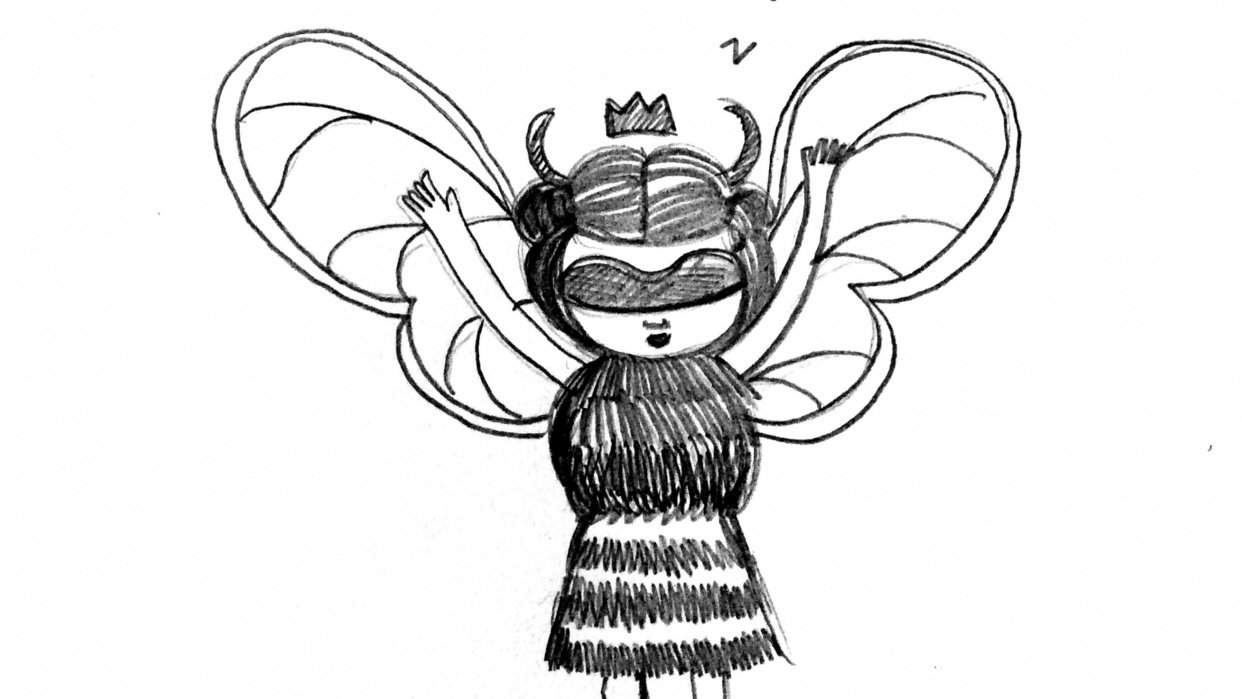 Bee Woman - student project